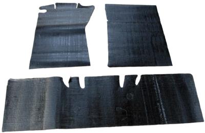 pair 1965-73 Mustang Quarter Panel Sound Deadner Kit